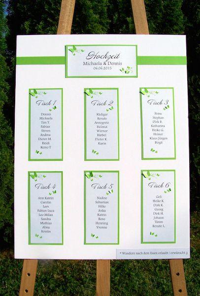 Hochzeit Sitzplan  Die besten 25 Sitzplan hochzeit Ideen auf Pinterest