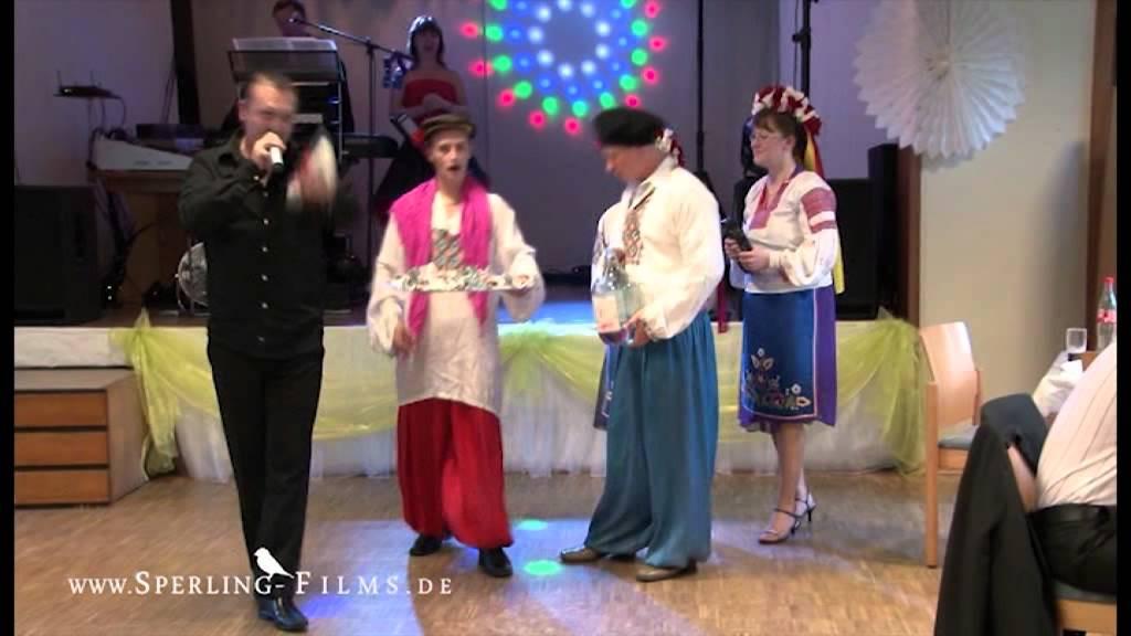 Hochzeit Spiele Lustig  LUSTIGE RUSSISCHE HOCHZEIT HOCHZEITSSPIELE LUSTIG SVADBA