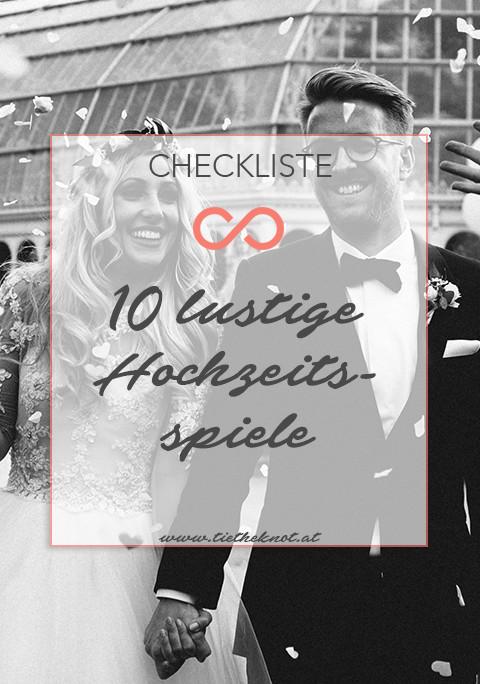 Hochzeit Spiele Lustig  Spiel & Spaß 10 lustige Hochzeitsspiele für Brautpaar und