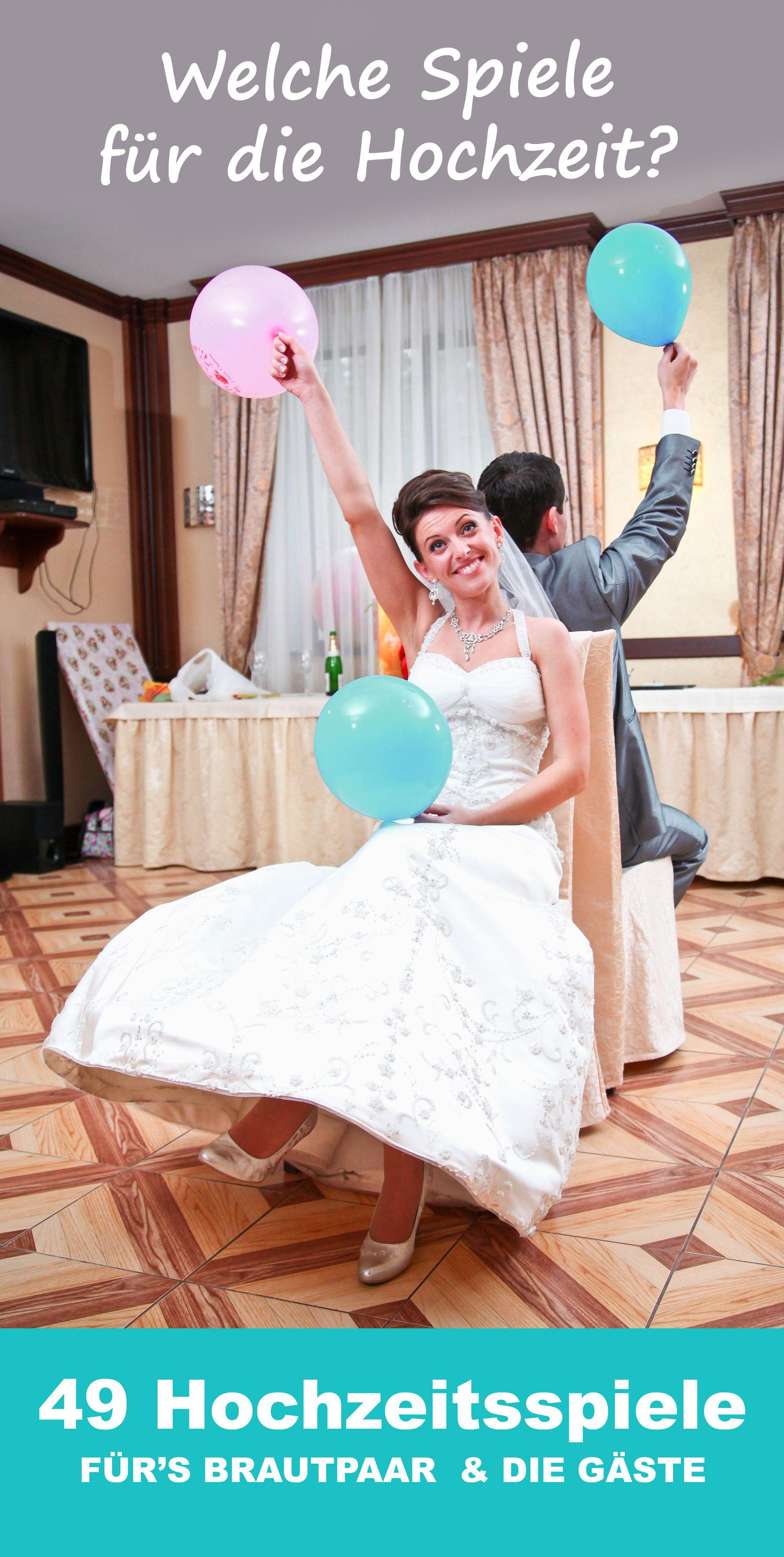 Hochzeit Spiele Lustig  GENIAL Die Top 50 der besten Hochzeitsspiele mit denen
