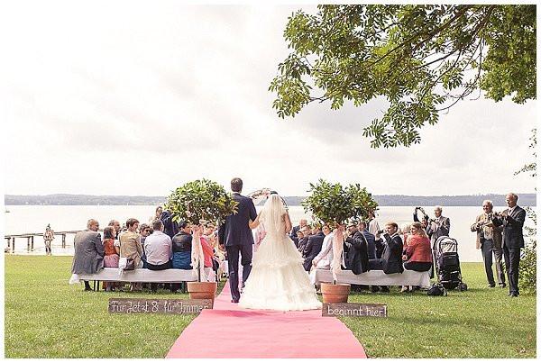 Hochzeit Starnberger See  DIY Hochzeit am Starnberger See
