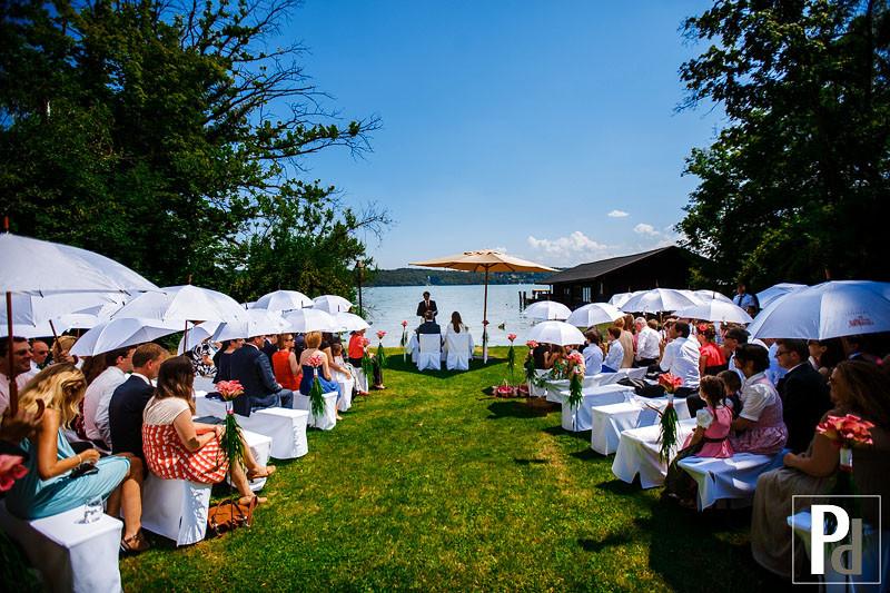 Hochzeit Starnberger See  Hochzeit La Villa am Starnberger See