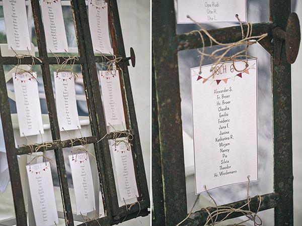 Hochzeit Tischplan  Die Hochzeit im Sauerland von Lena und Ralph