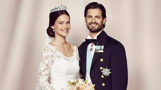 Hochzeit Von Carl Philip Von Schweden  Schweden fizielle Hochzeitsfotos von Carl Philip und Sofia