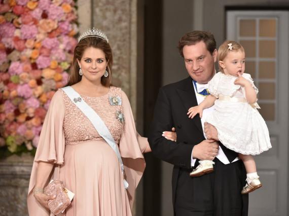 Hochzeit Von Carl Philip Von Schweden  Madeleine von Schweden Das Baby ist da