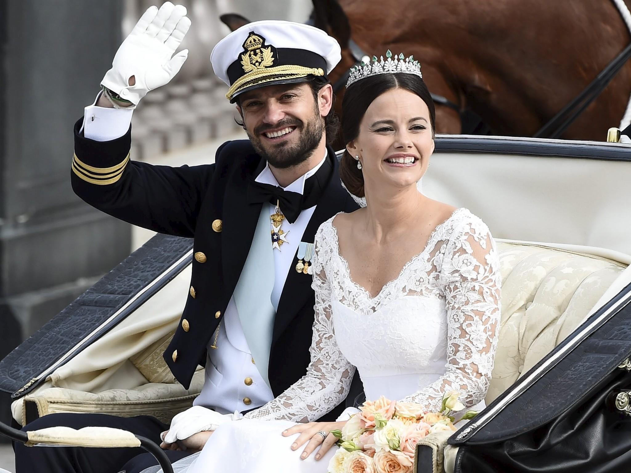 Hochzeit Von Carl Philip Von Schweden  Prinz Carl Philip und Sofia Hellqvist Die schönsten
