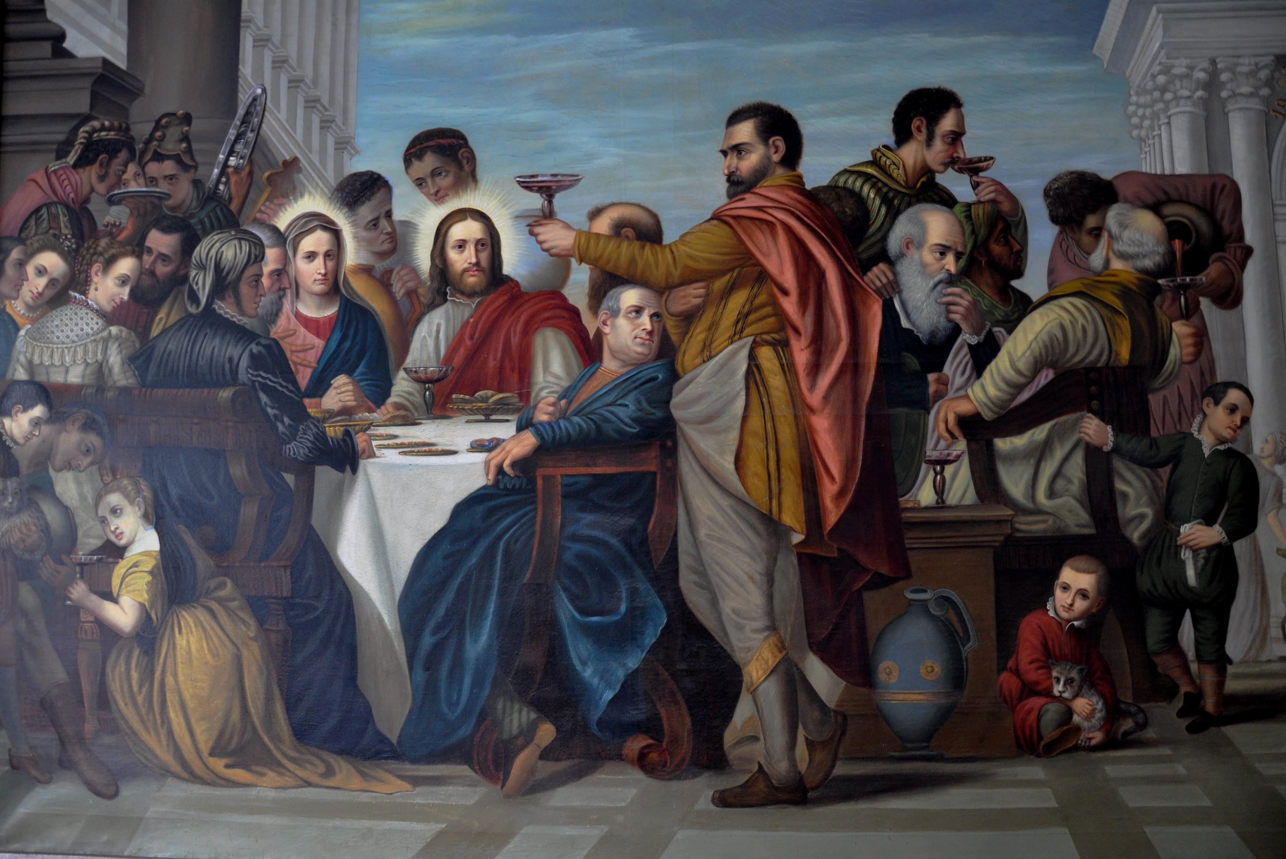 Hochzeit Von Kana  File Kloster Mehrerau Treppenhaus Collegiumskapelle