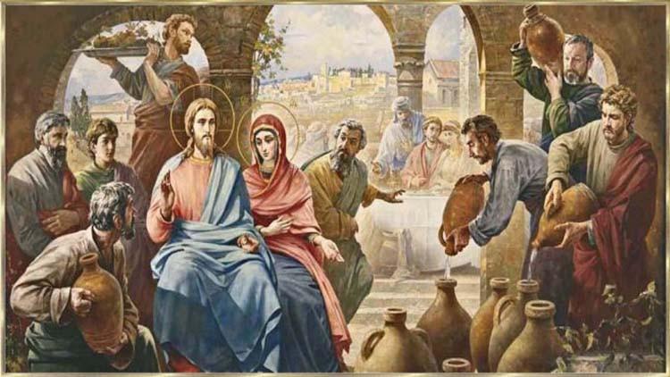 Hochzeit Von Kana  Das Neue Testament Das öffentliche Wirken Jesu