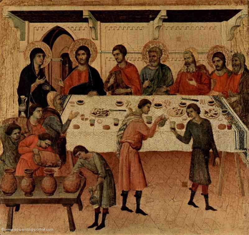 Hochzeit Von Kana  Hochzeit zu Kana Bilder Gemälde und Ölgemälde Replikation