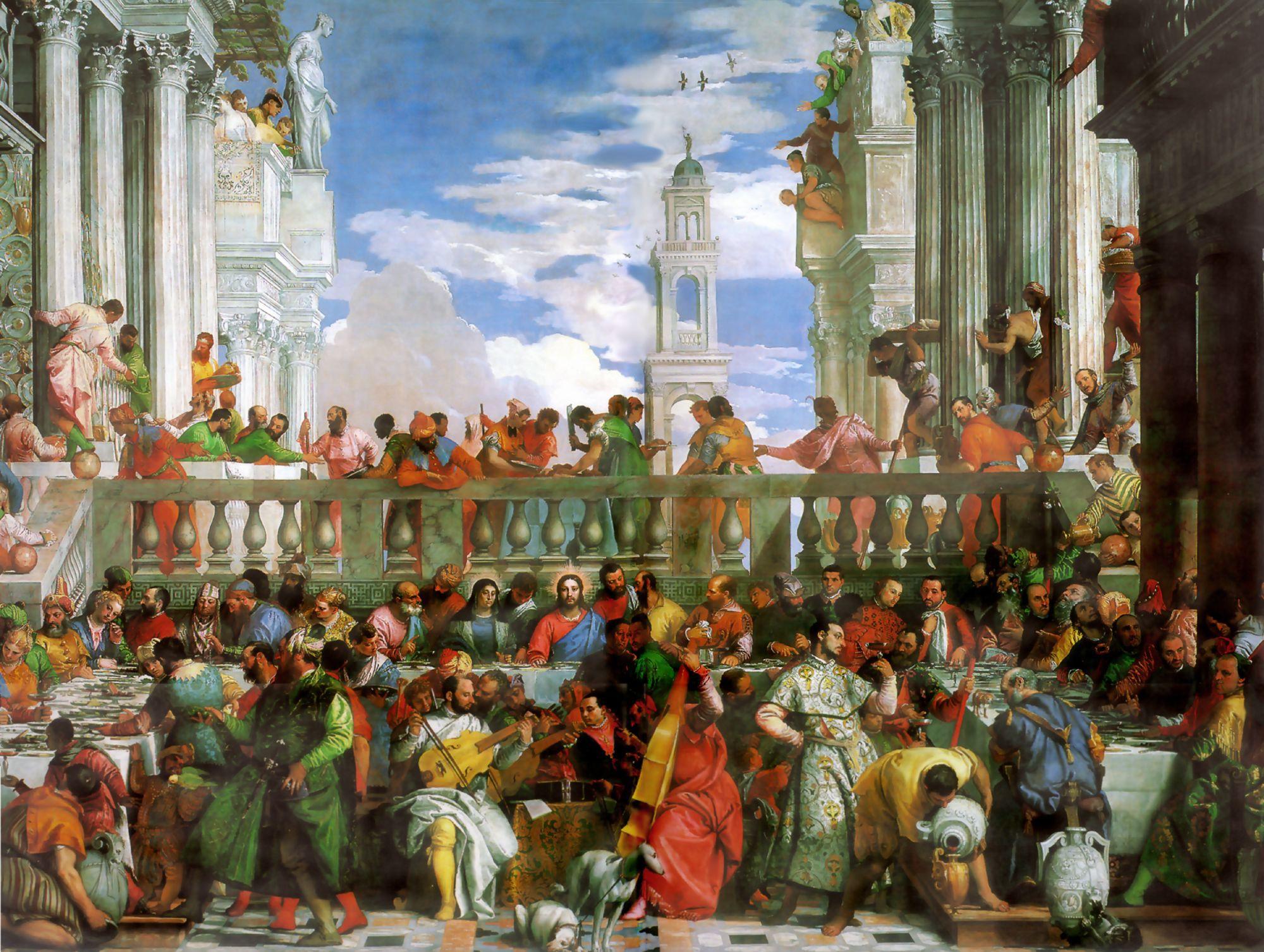 Hochzeit Von Kana  Die Hochzeit zu Kana