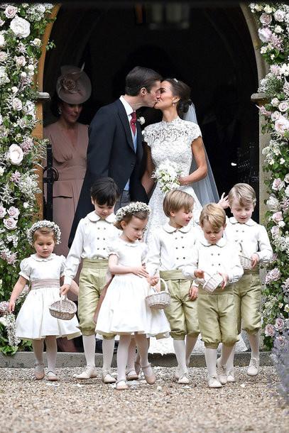 Hochzeit Von Pippa  Die Hochzeit von Pippa Middleton VOGUE