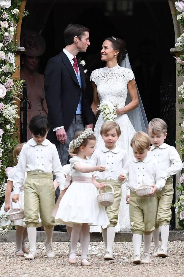 Hochzeit Von Pippa  Pippa Middleton hat geheiratet Eine Society Hochzeit mit