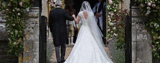 Hochzeit Von Pippa  Wo ist der Pippa Po Brautkleid versteckte hübsche