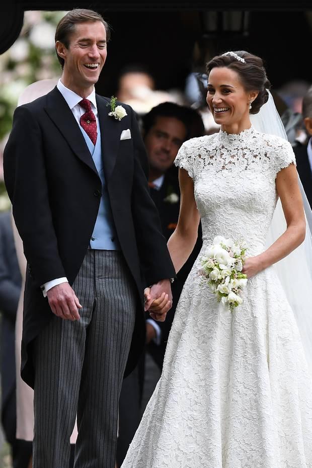 Hochzeit Von Pippa  Hochzeit von Pippa Middleton Die Looks der Hochzeitsgäste