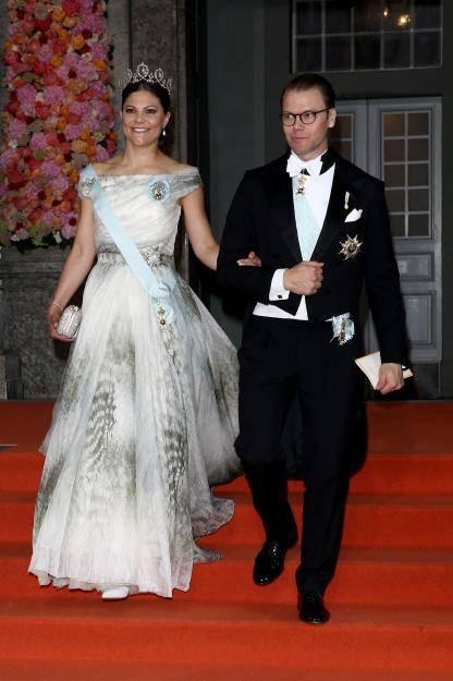 Hochzeit Von Schweden  Victoria von Schweden trägt H&M auf der Hochzeit ihres