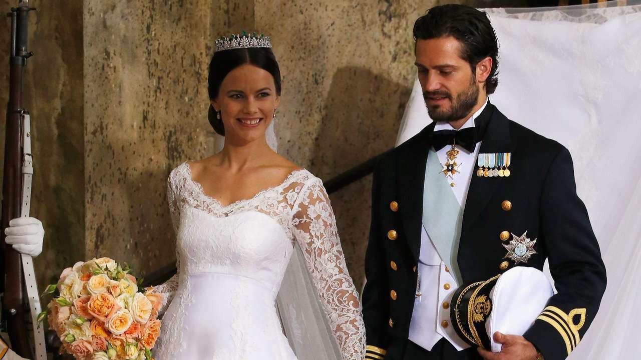Hochzeit Von Schweden  Hochzeit Prinz Carl Philip von Schweden heiratet Sofia
