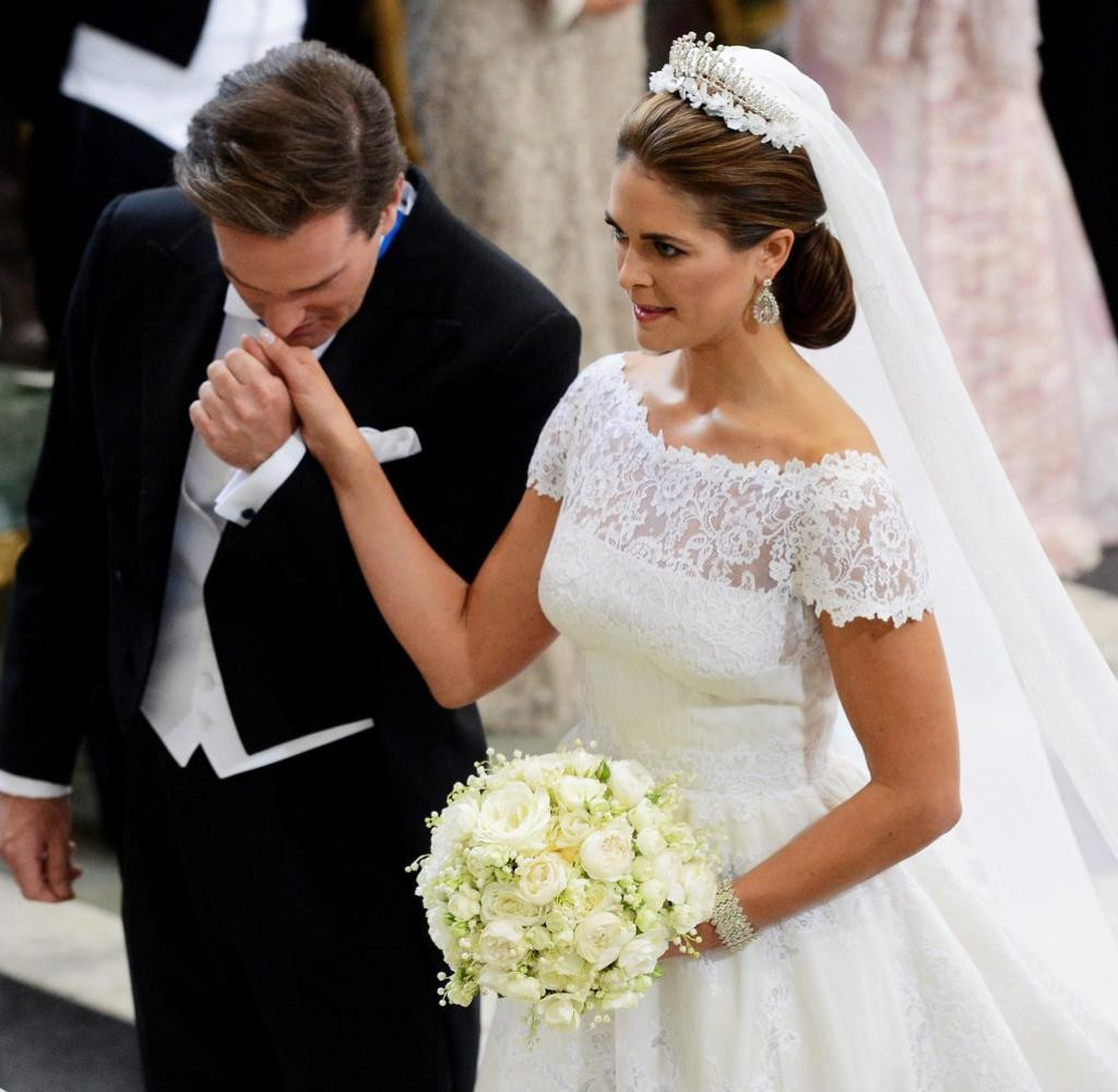 Hochzeit Von Schweden  Prinzessin Madeleine Schweden feiert mäßig begeistert