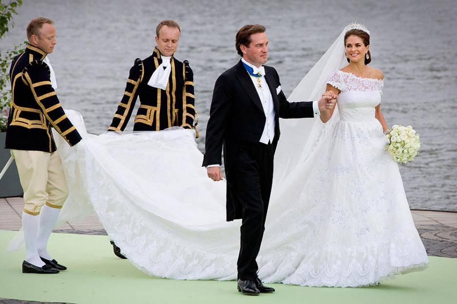 Hochzeit Von Schweden  Prinzessin Madeleine von Schweden
