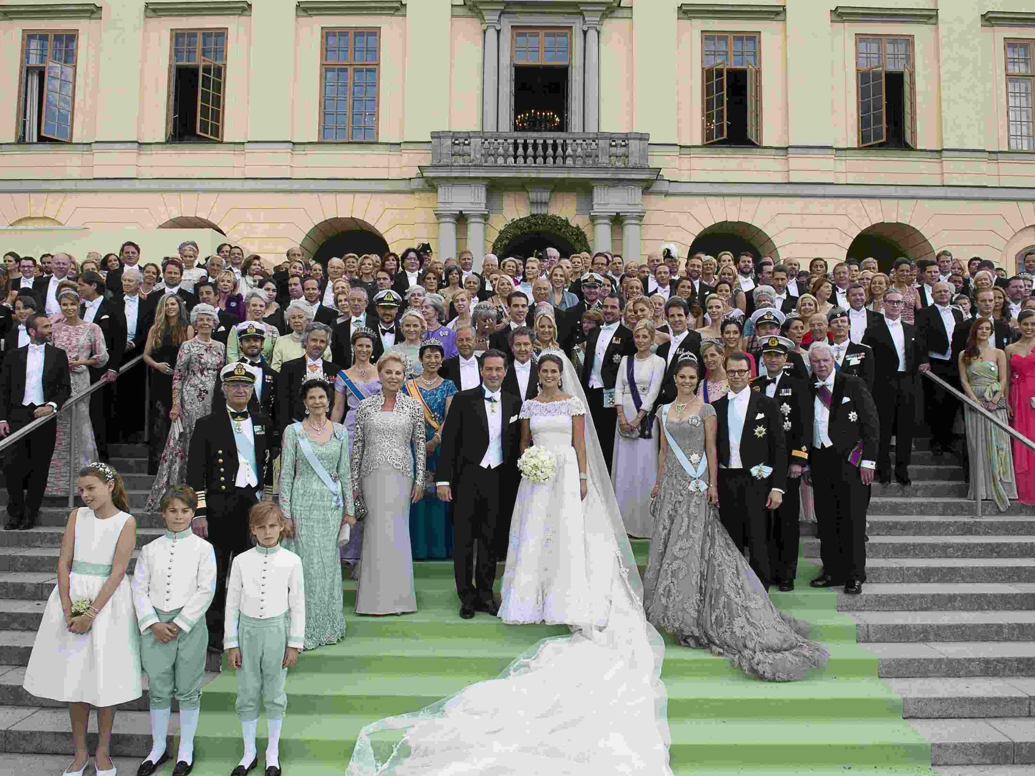 Hochzeit Von Schweden  Hochzeit in Schweden Die schönsten Bilder von Madeleine