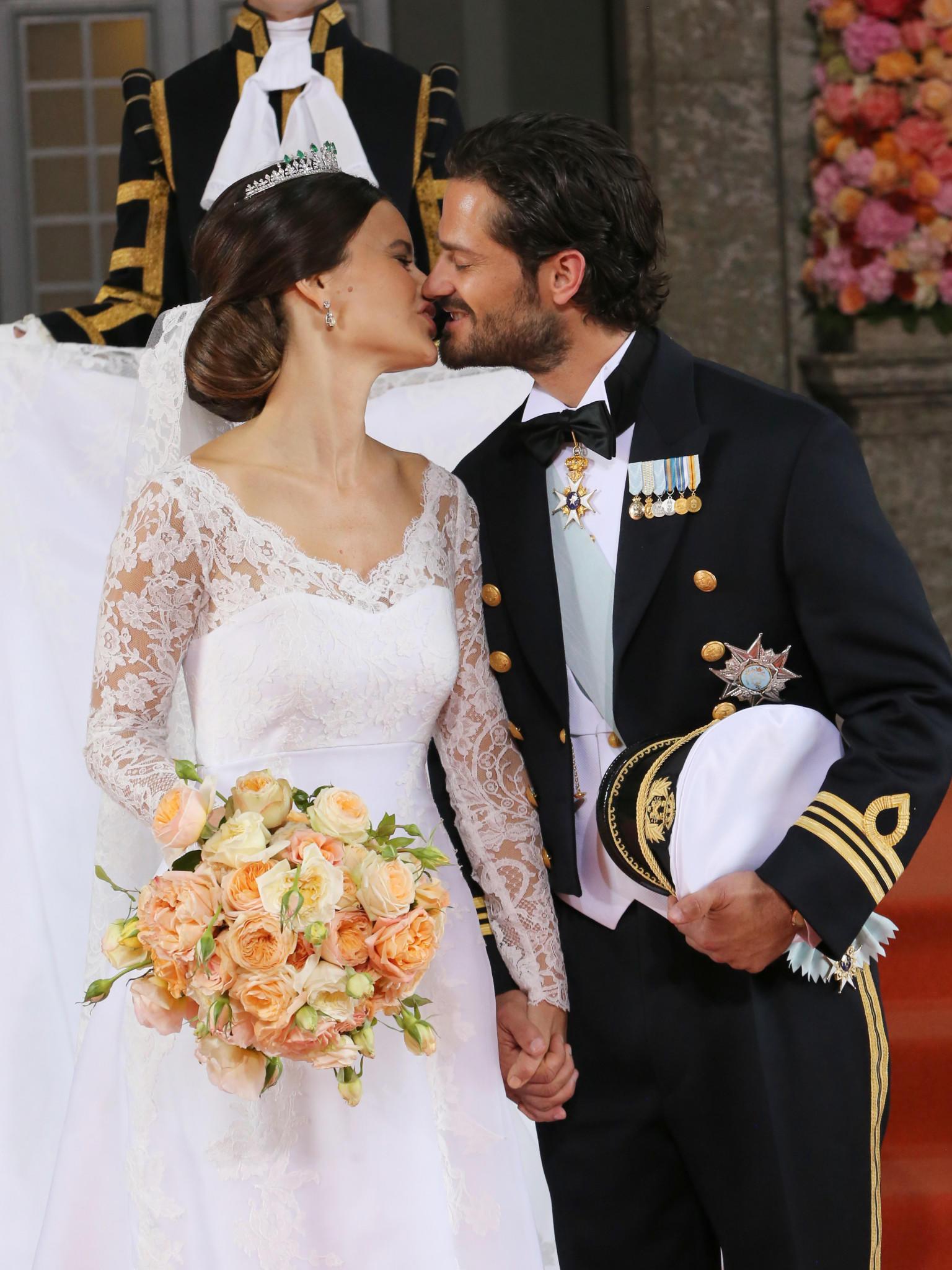 Hochzeit Von Schweden  Prinz Carl Philip und Sofia Hellqvist Die schönsten