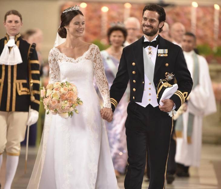 Hochzeit Von Schweden  Sofia Hellqvist und Prinz Carl