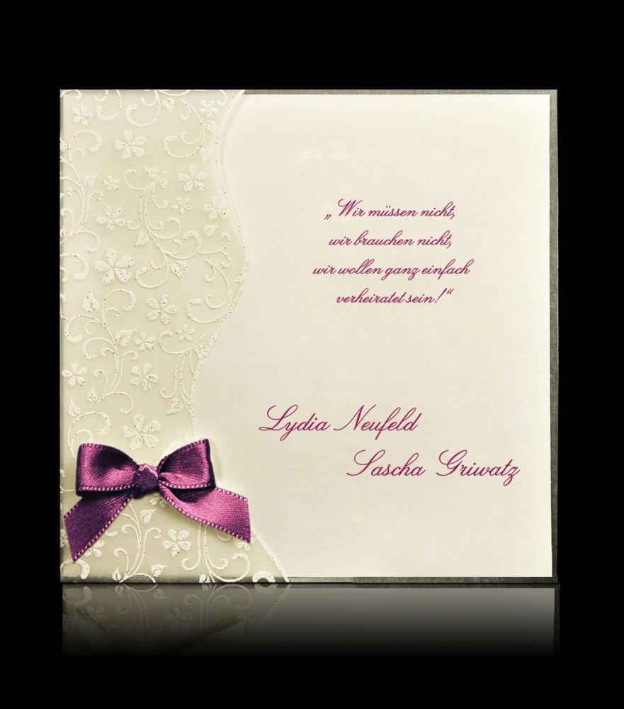 Hochzeitskarten Günstig  Hochzeitskarten günstig bestellen