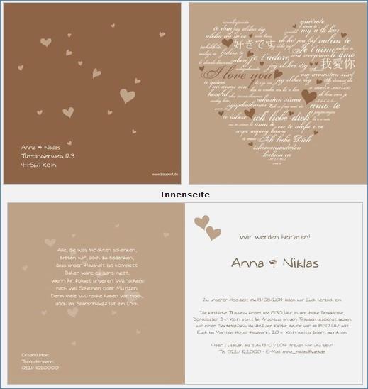 Hochzeitskarten Günstig  Einladungen Gunstig line Bestellen – travelslow
