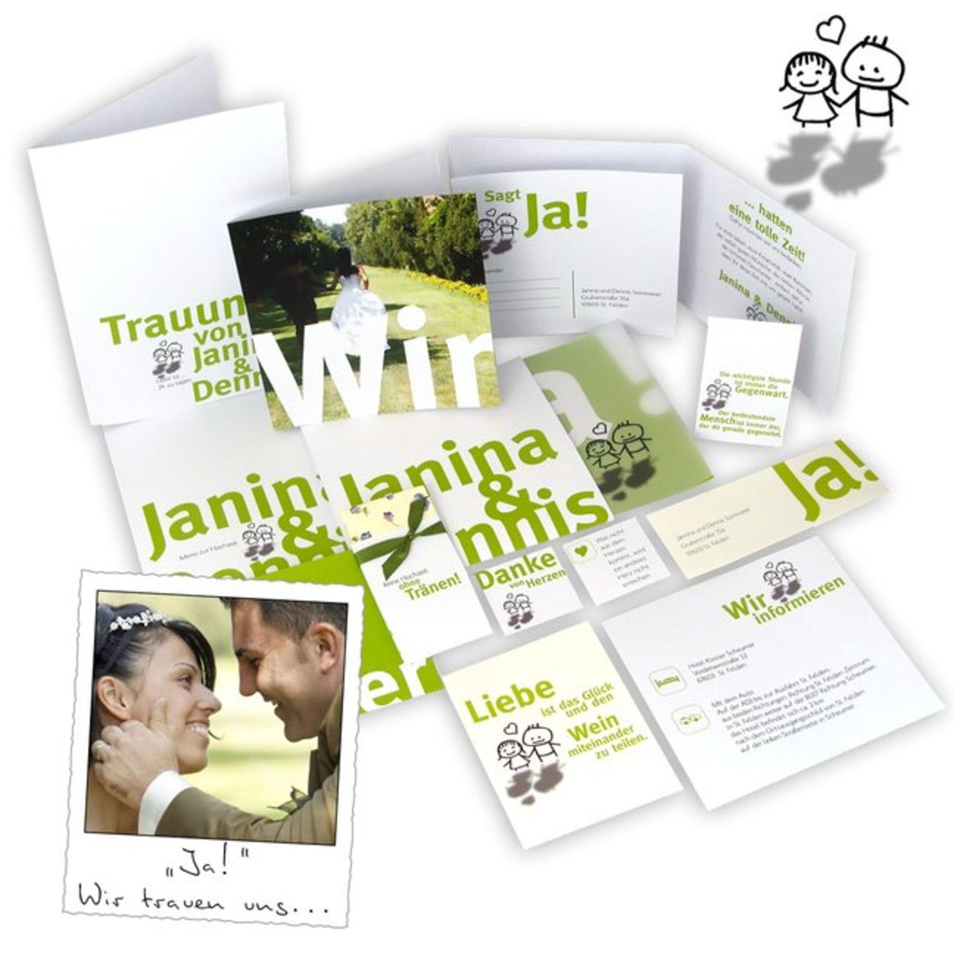 Hochzeitskarten Günstig  Günstige Hochzeitskarten und Papeterie mit Liebe designt