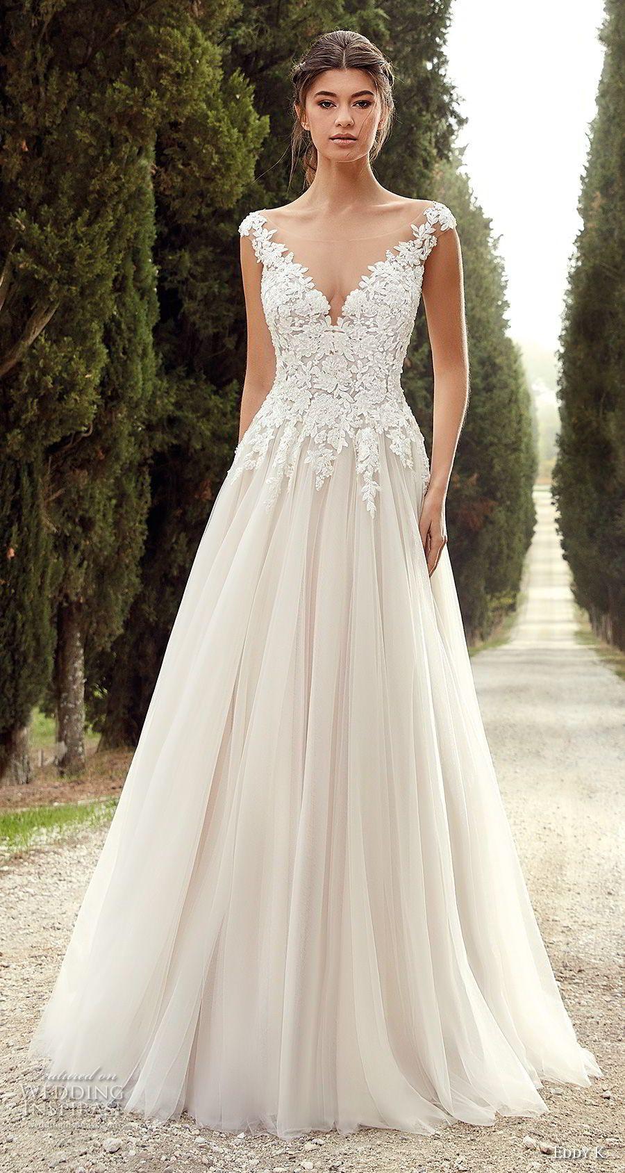 Hochzeitskleid 2019  Eddy K 2019 Brautkleider Hochzeit
