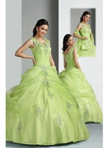 Hochzeitskleid Grün  Hochzeitskleid grün