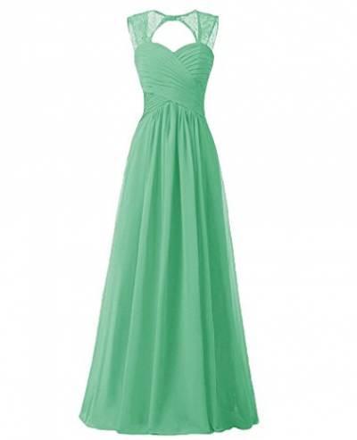 Hochzeitskleid Grün  Kleider von Beyonddress in Grün für Damen