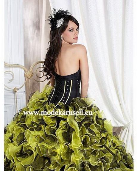 Hochzeitskleid Grün  Brautkleid grün