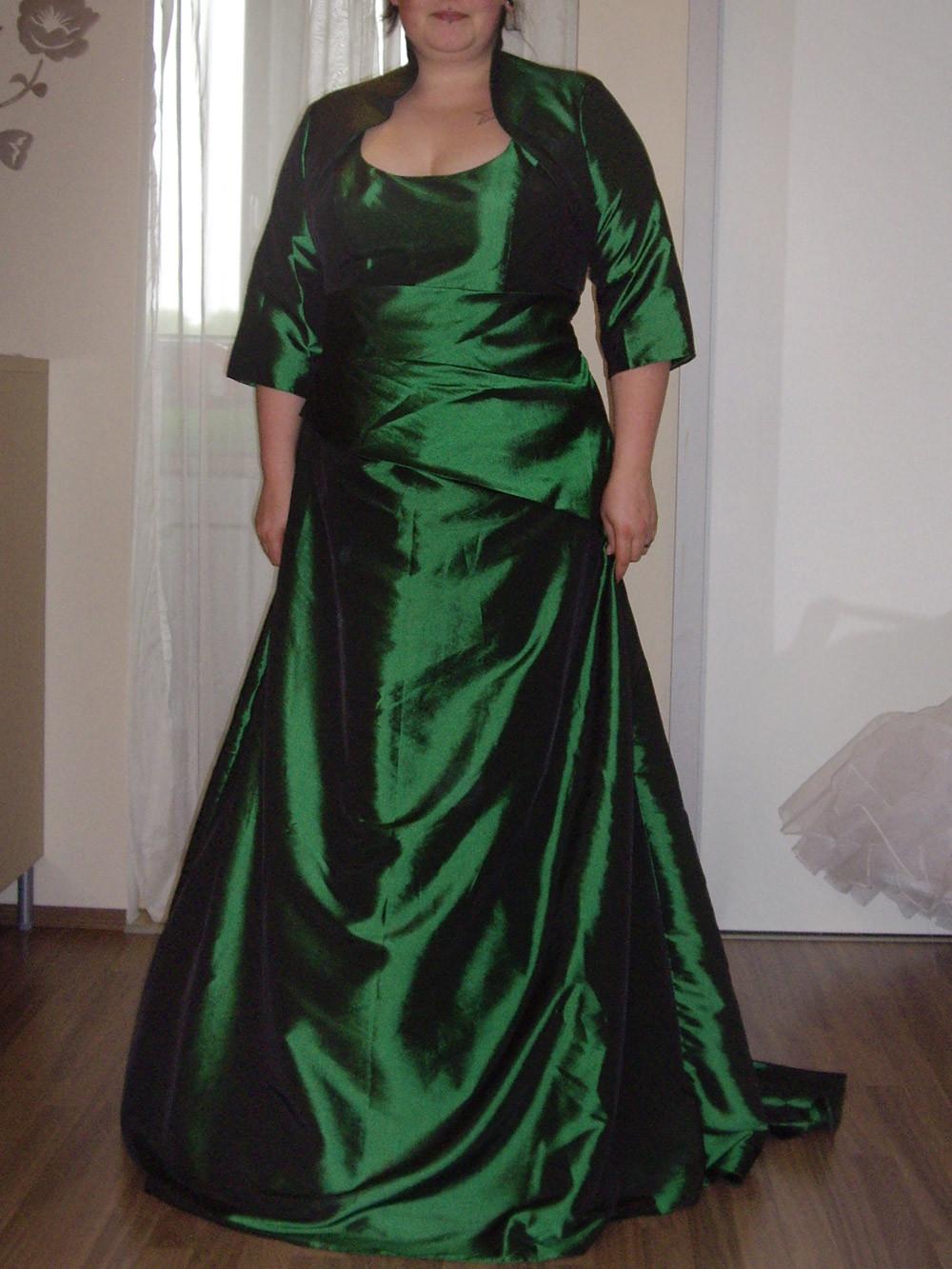 Hochzeitskleid Grün  Punk Girl Brautkleid in grün – Cindy & Ella Hamburg