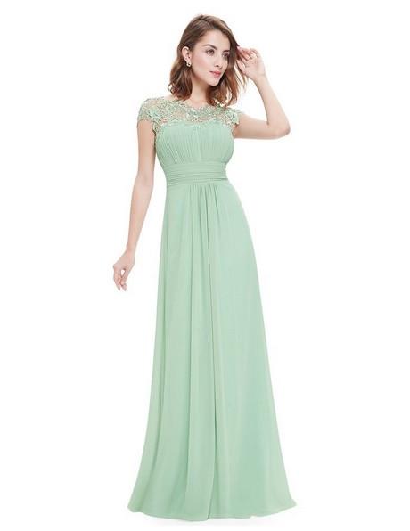 Hochzeitskleid Grün  Langes kleid mint