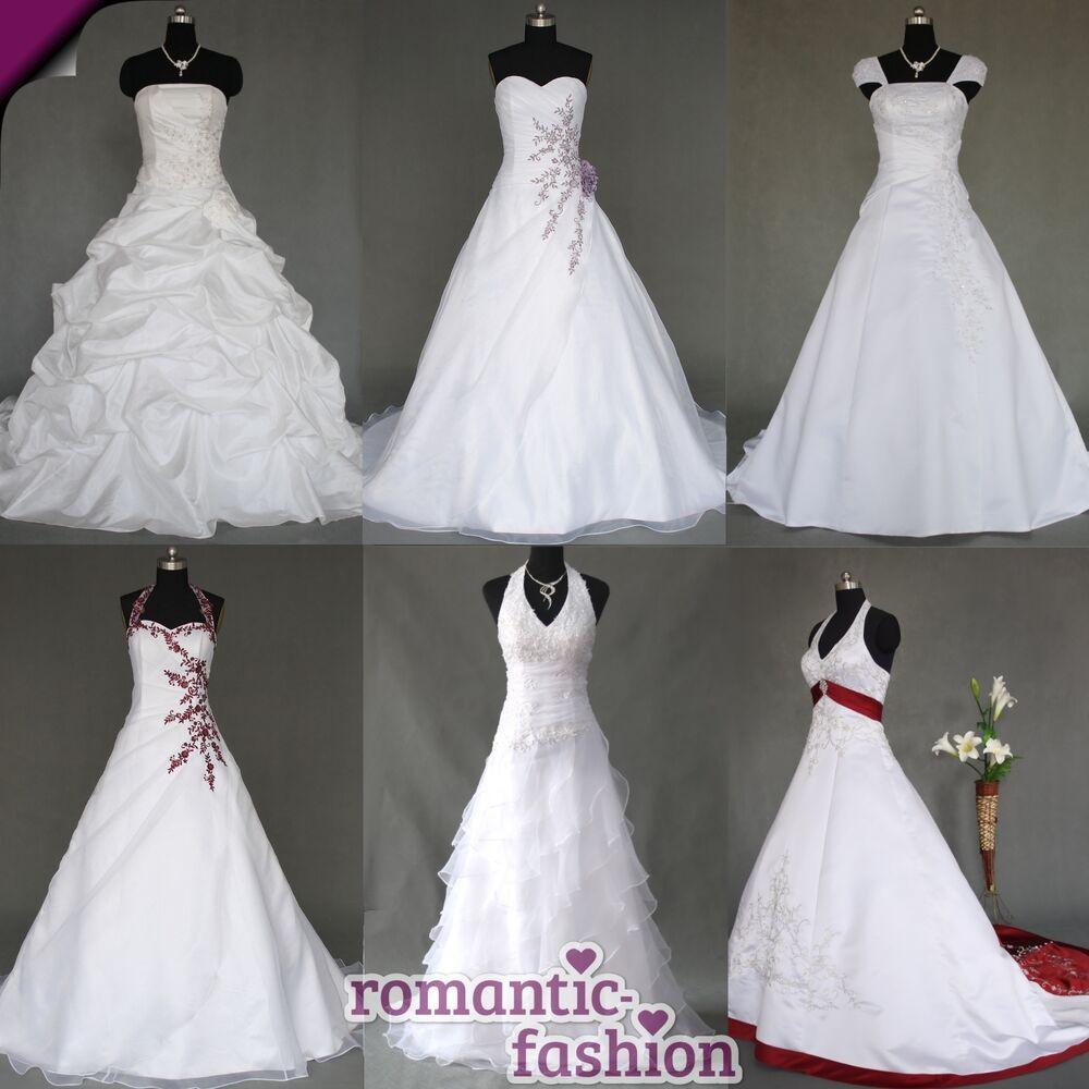 Hochzeitskleid M  ♥Brautkleid Hochzeitskleid Weiß Größe 34 bis 54 viele