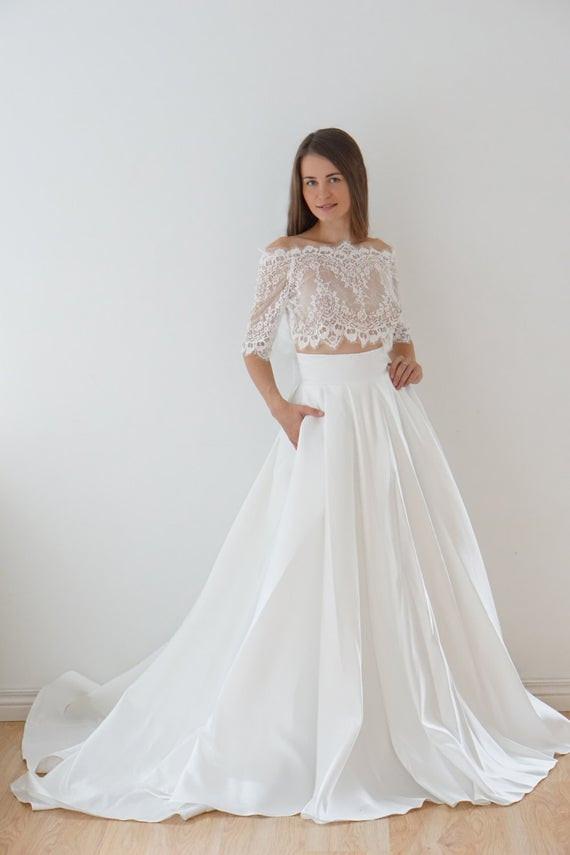 Hochzeitskleid M  Hochzeitskleid