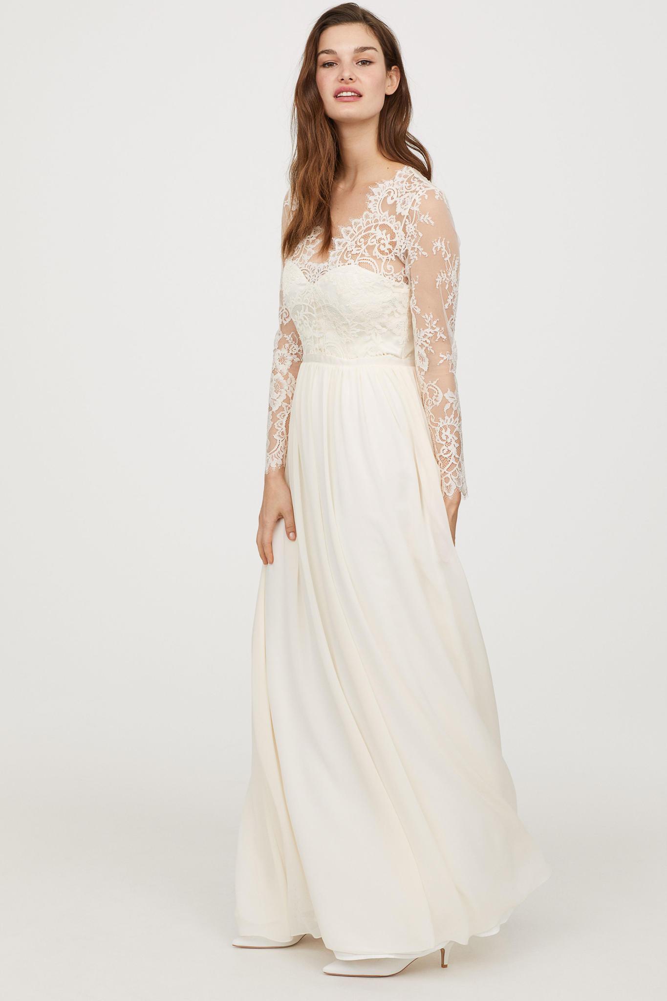 Hochzeitskleid M  Herzogin Catherine Ihr Brautkleid wird von H&M kopiert