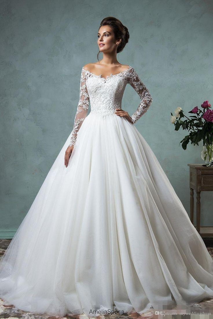 Hochzeitskleid M  Brautkleider langarm – Dein neuer Kleiderfotoblog