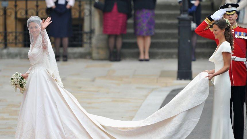 Hochzeitskleid Meghan Markle  Hochzeitskleid von Meghan Markle Im Auftrag ihrer