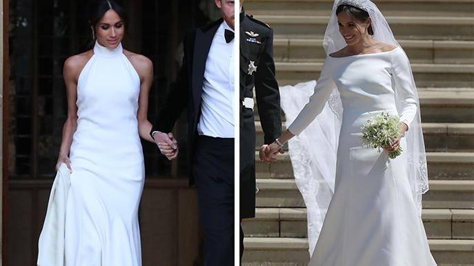 Hochzeitskleid Meghan Markle  Meghan Markle Welches ihrer Hochzeitskleider war schöner
