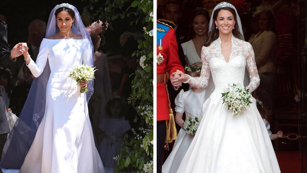 Hochzeitskleid Meghan Markle  Herzogin Meghan Mit sem Givenchy Brautkleid hat sie