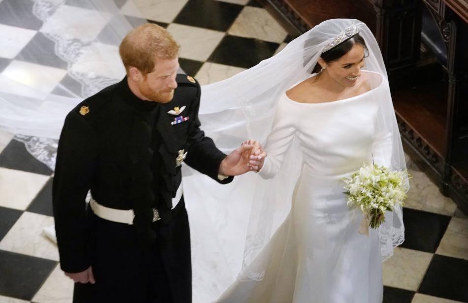 Hochzeitskleid Meghan Markle  Meghan Markle So wunderschön ist ihr Hochzeitskleid