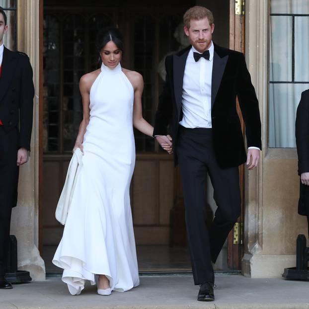 Hochzeitskleid Meghan Markle  Meghan Markle ihre zweites Hochzeitskleid ist hot