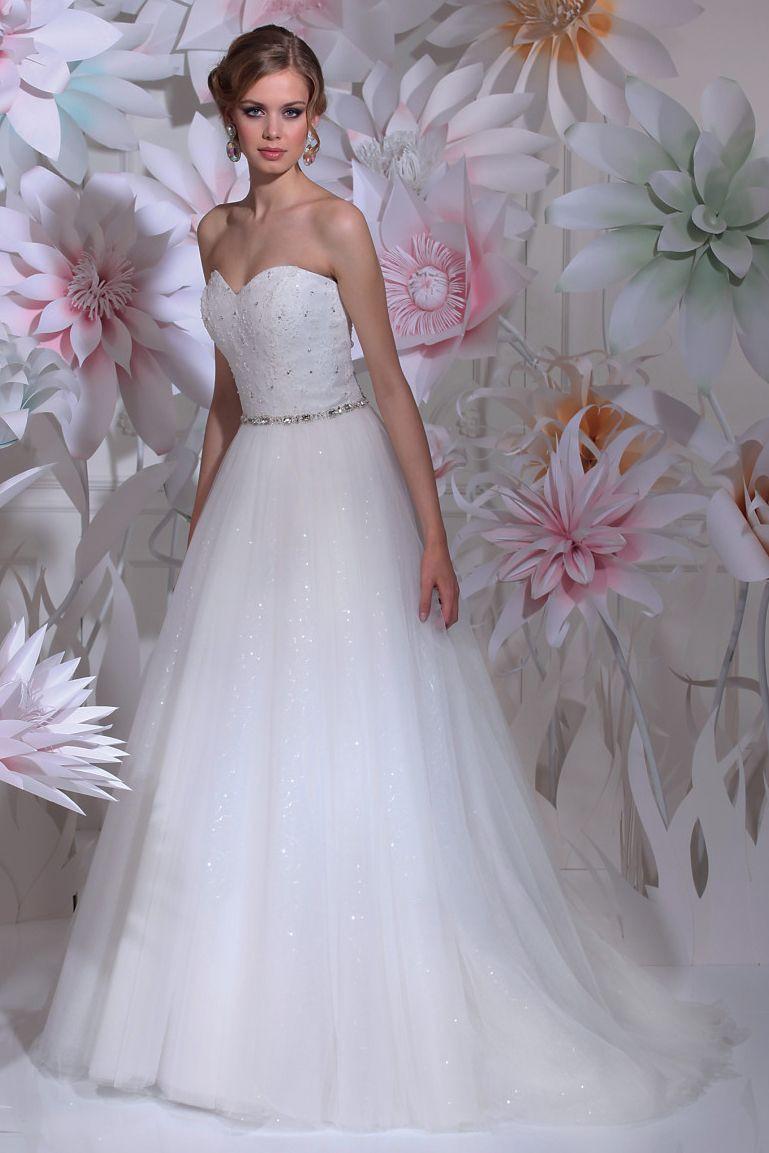 Hochzeitskleid Prinzessin Glitzer  Isabel de Mestre New York Kollektion 2016 Brautkleid