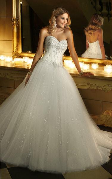 Hochzeitskleid Prinzessin Glitzer  Hochzeitskleid Glitzer Komplett – Friseur