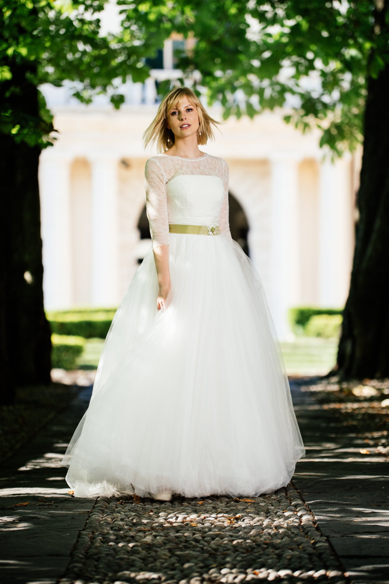 Hochzeitskleid Tüll  Prinzessinnen Hochzeitskleid Tüll modernes Traumkleid