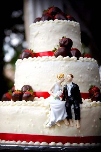 Hochzeitstorte Brautpaar  Hochzeitstorten von A Z