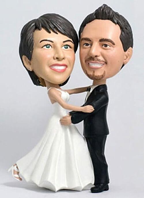 Hochzeitstorte Brautpaar  Brautpaar für Hochzeitstorte Bildergalerie Hochzeitsportal24
