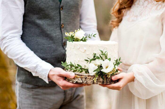 Hochzeitstorte Klein  Hochzeitstorte klein