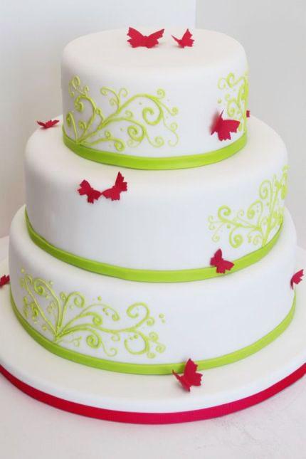 Hochzeitstorte Leipzig  Schöne Form andere Farbe Torte